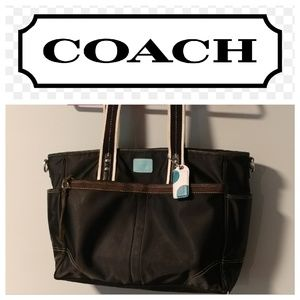 Coach Hamptons diaper/tote bag